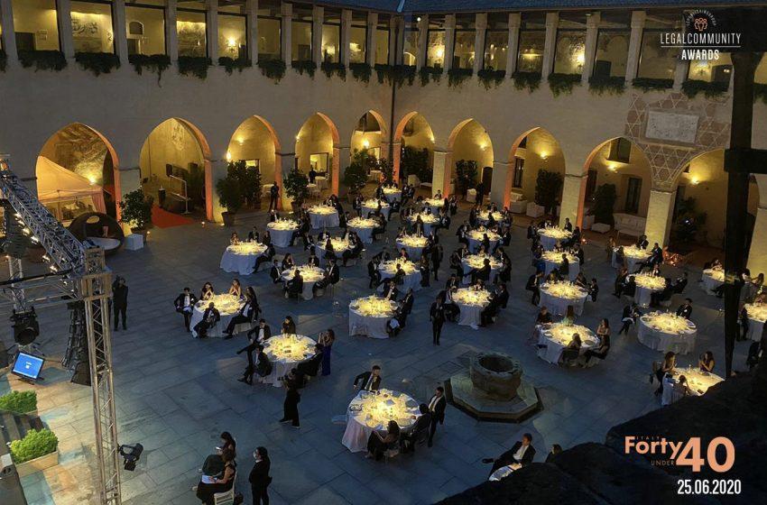 FOTO – Legalcommunity Forty under 40 Awards – Italy 2020