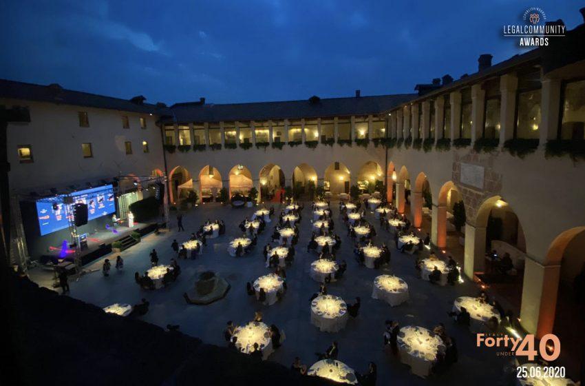 VIDEO – Legalcommunity Forty under 40 Awards – Italy 2020