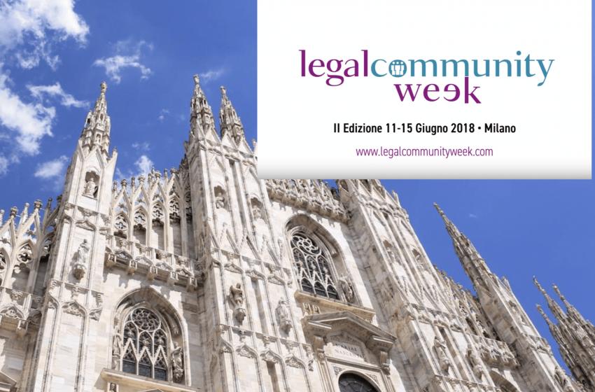 Con Legalcommunity, Milano fa sistema nel legal business