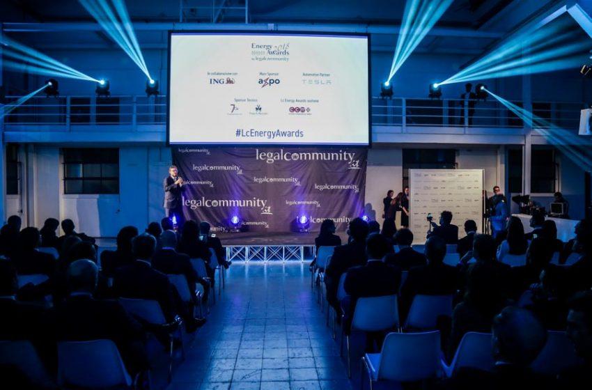 Legalcommunity Energy Awards 2018