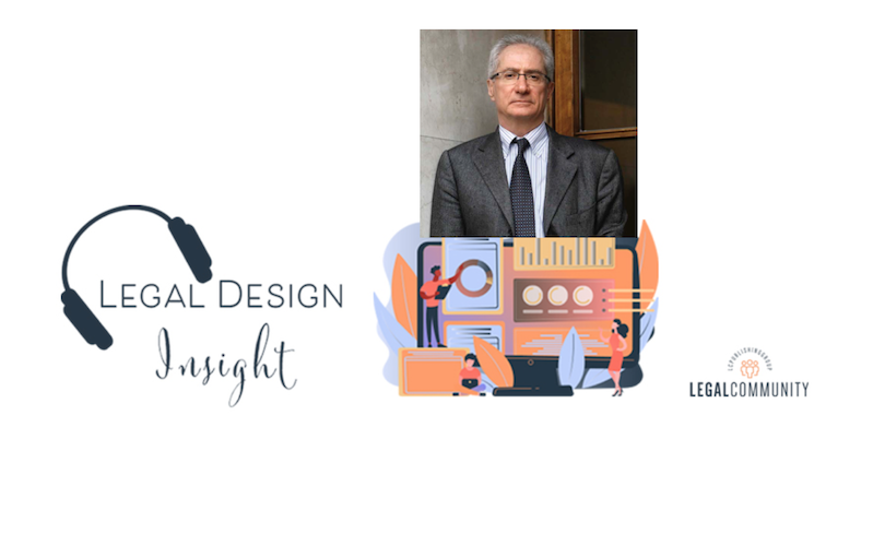 Legal Design Insight con Amedeo Santosuosso
