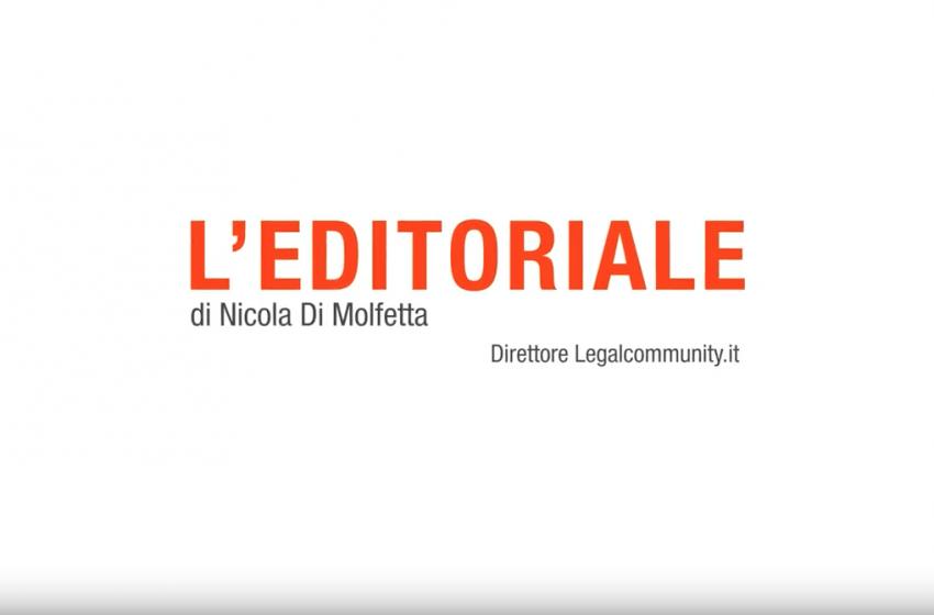 Video Editoriale – Nicola Di Molfetta