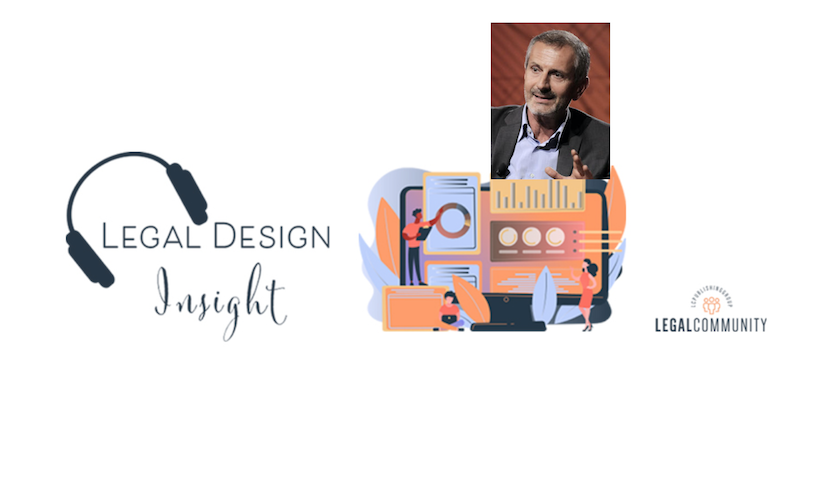 Legal Design Insight con Gianrico Carofiglio