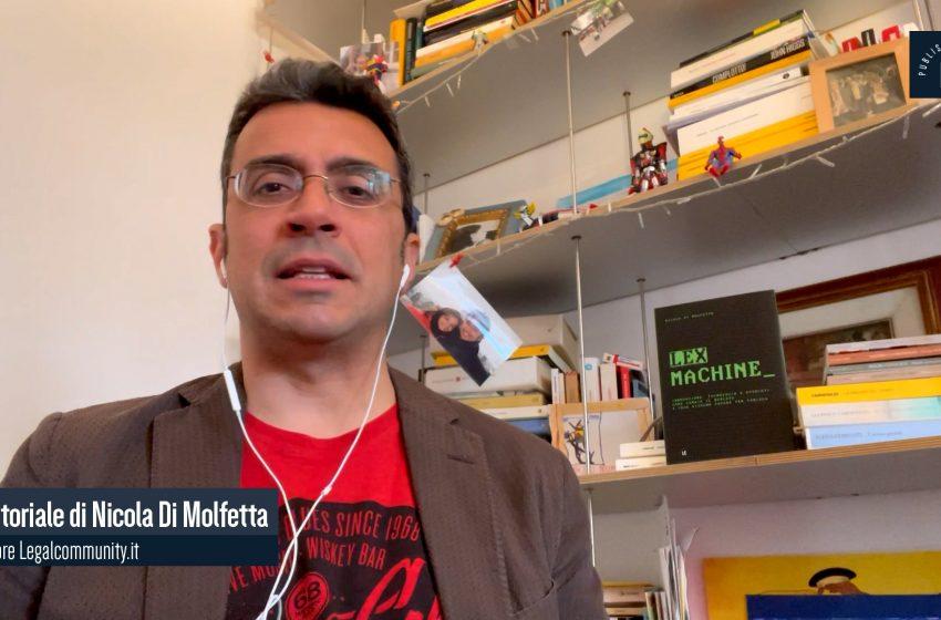 Video Editoriale – Legalcommunity n.141