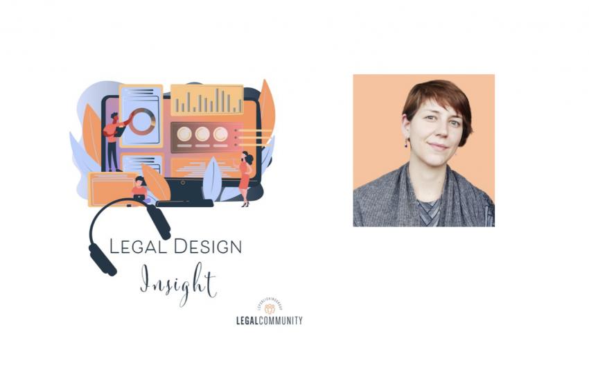 Legal design Insight con Arianna Rossi