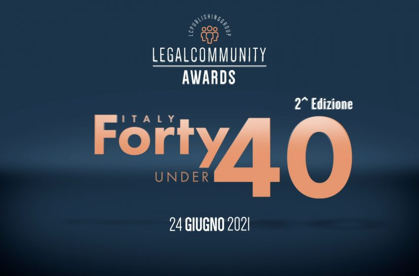 Legalcommunity Forty under 40 Awards 2021 – Video