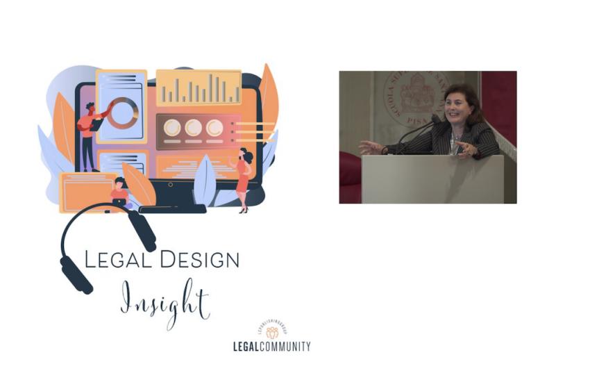 Legal design insight con Monica Palmirani