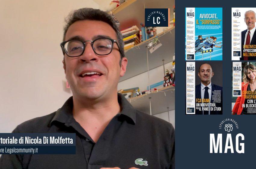 Video Editoriale – Legalcommunity n.147