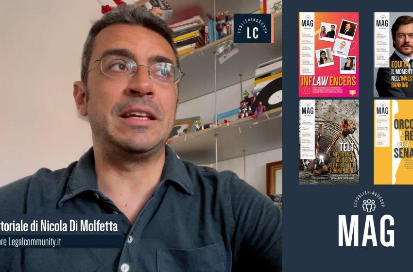Video Editoriale – Legalcommunity n.145