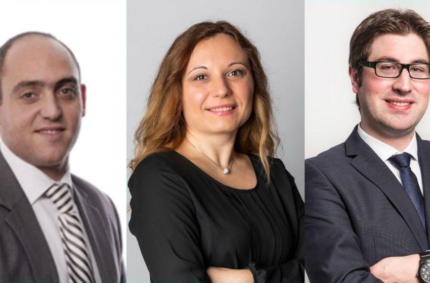 Tre nuovi associate partner in Rödl & Partner