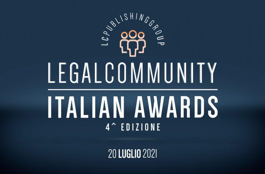 Legalcommunity Italian Awards 2021 – Video