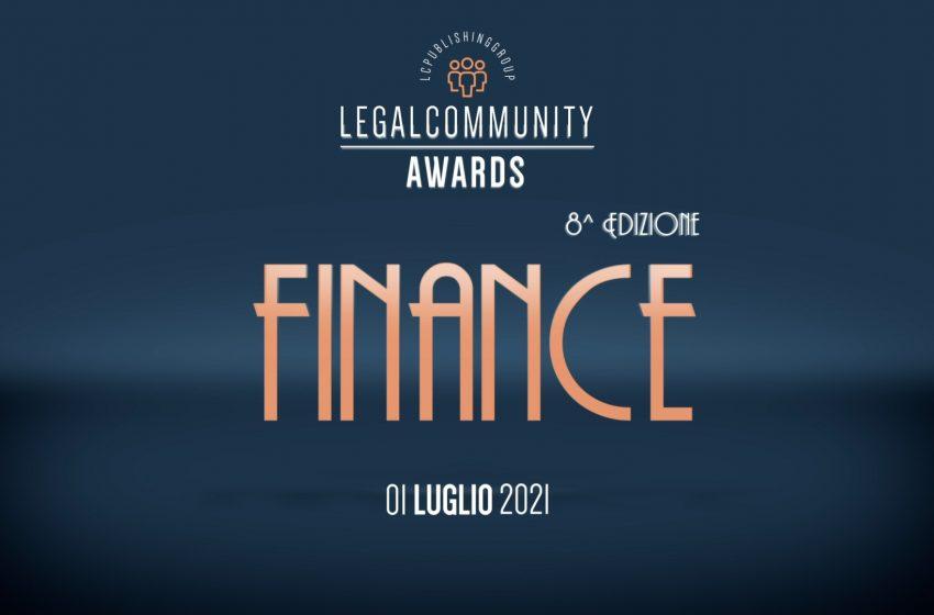 Legalcommunity Finance Awards 2021 – Video