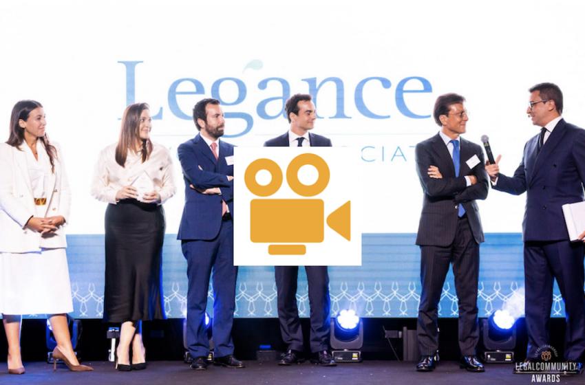 VIDEO: Legalcommunity Corporate Awards 2021, tutti i vincitori