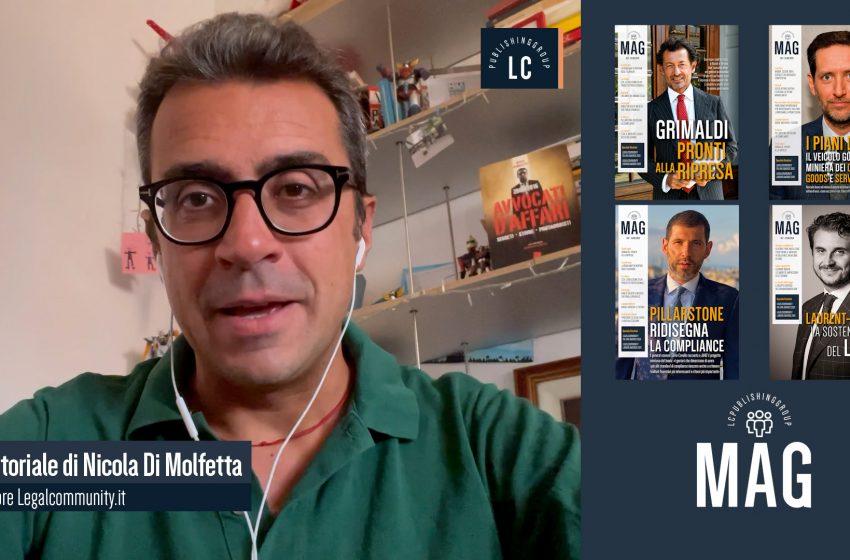 Video Editoriale – Legalcommunity n.151