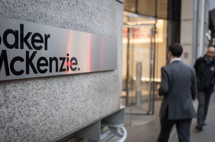 Il fatturato globale di Baker McKenzie supera quota 3 miliardi di dollari