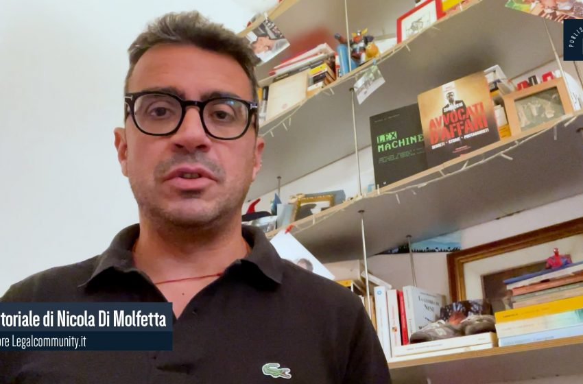 Video Editoriale – Legalcommunity n.154