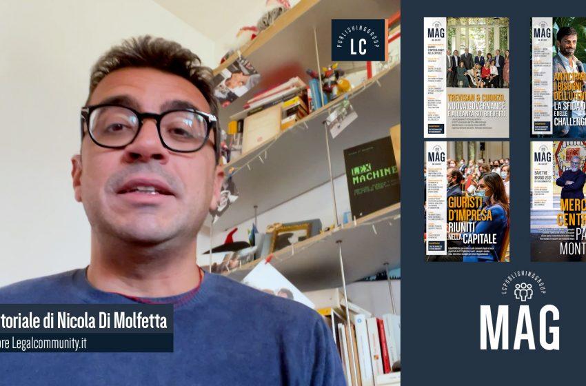 Video Editoriale – Legalcommunity n.155